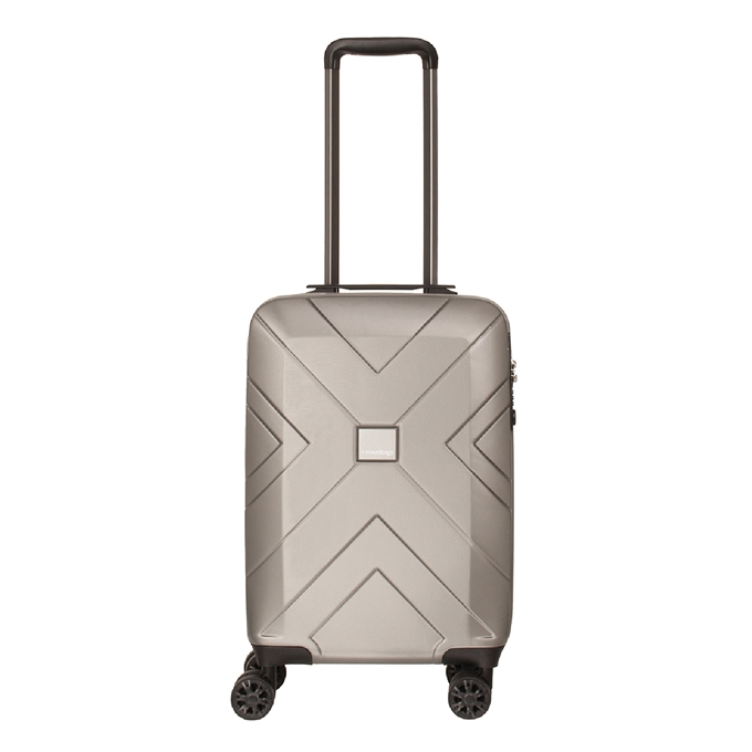 Travelbags Londen 4 Wheel Trolley 55 champagne