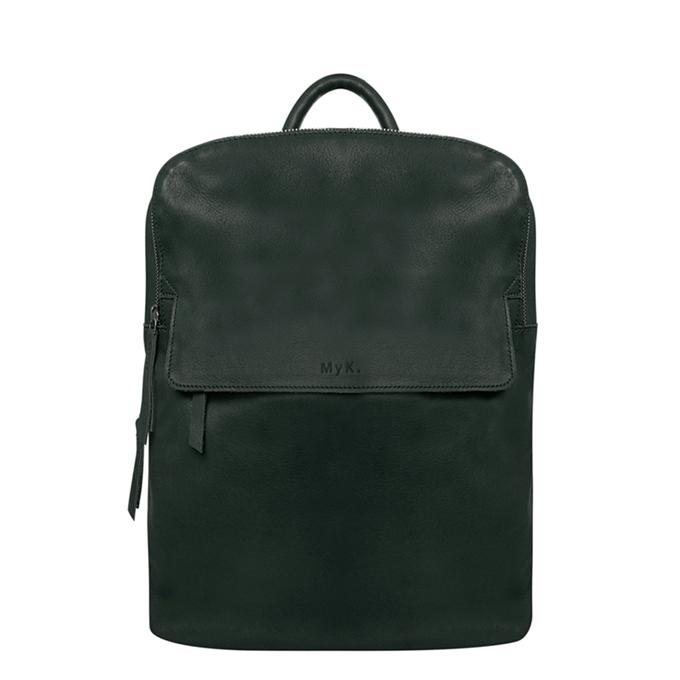 MyK. Explore Bag emerald green