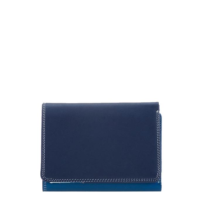 Mywalit Unisex Medium Tri-fold Wallet denim - 1