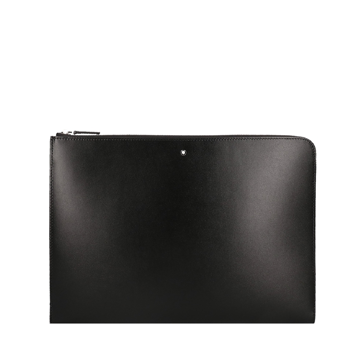 Montblanc Meisterstuck Portfolio with Zip black - 1