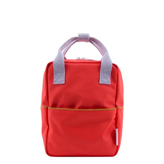 Sticky Lemon Corduroy Backpack Small sporty red