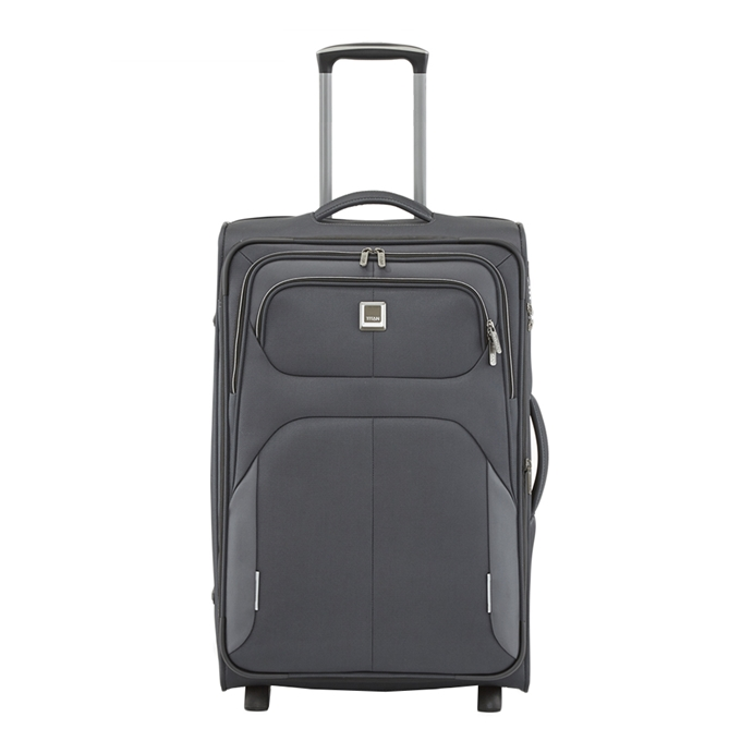 Titan Nonstop 2 Wiel Trolley M expandable anthracite