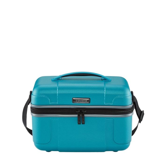 Travelite Vector Beauty Case turquoise - 1