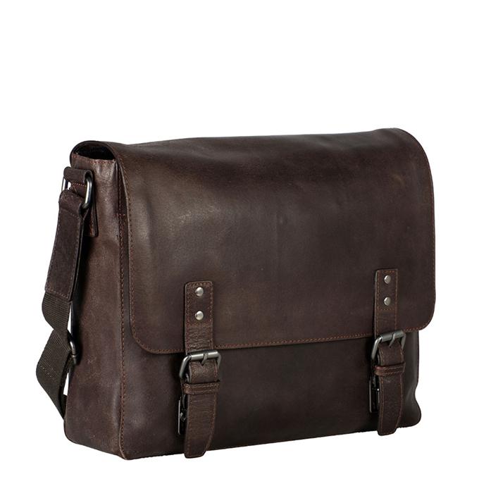 Leonhard Heyden Dakota Messenger Bag L 13'' brown - 1