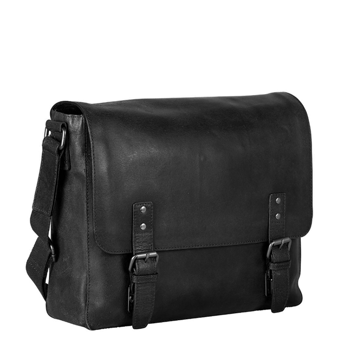 Leonhard Heyden Dakota Messenger Bag L 13'' black - 1