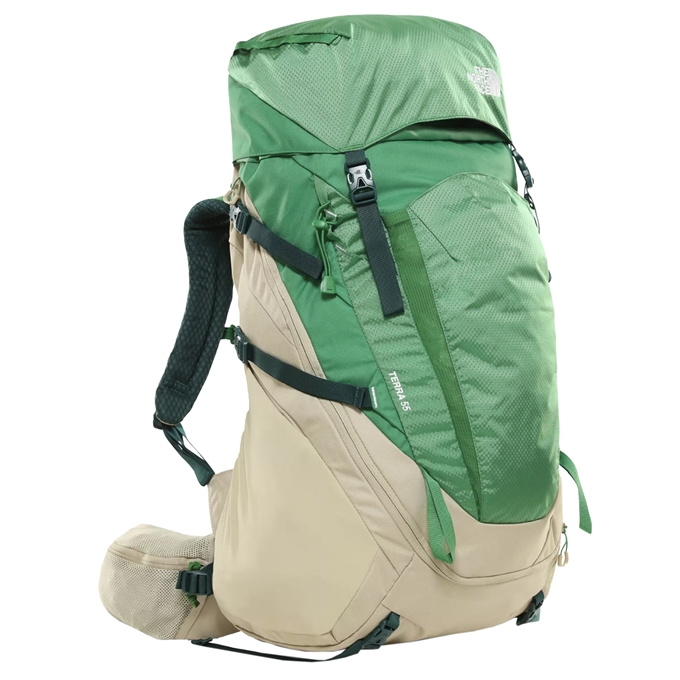 The North Face Terra 55 Backpack L/XL twill beige / sullivan green - 1