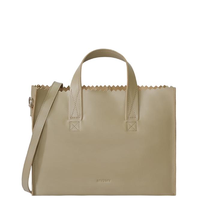Myomy Paper Bag Handbag crossbody sand