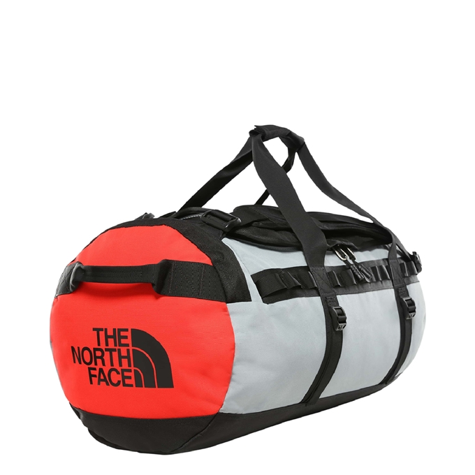 The North Face Gilman Duffel M tnf black / mid grey / fiery red