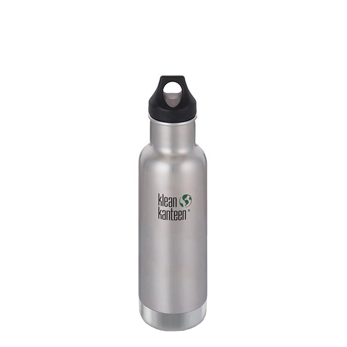 Klean Kanteen Classic Vacuum Insulated Bottle 592ml brushed stainless