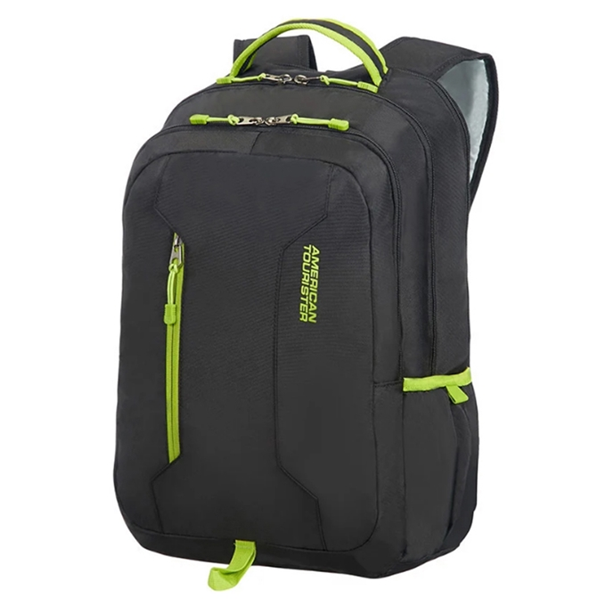 American Tourister Urban Groove UG4 Laptop Backpack 15.6'' black/lime green