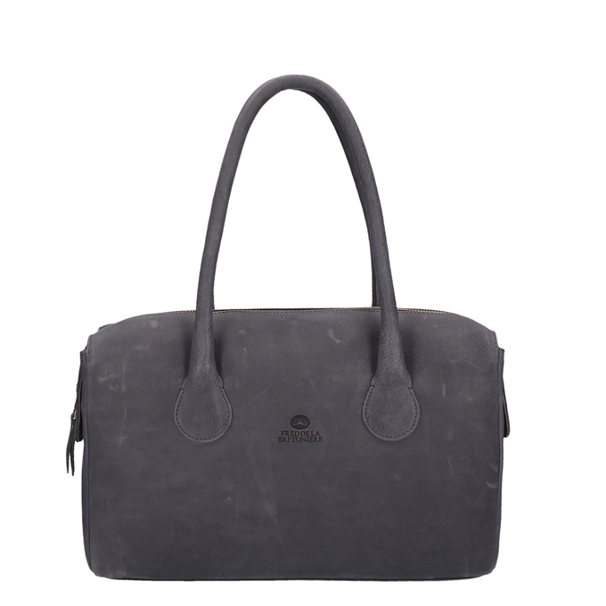 Fred de la Bretoniere Soft Grain Leather Handbag L black