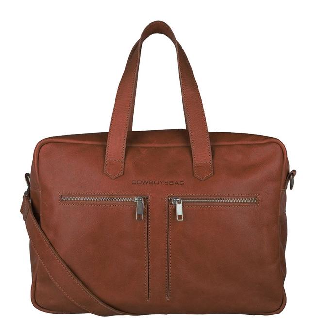 "Cowboysbag Back to School Kyle Bag 15"" cognac - 1"