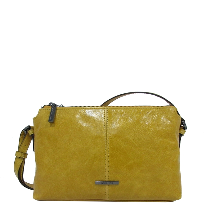 Claudio Ferrici Pelle Vecchia Crossbag sunflower