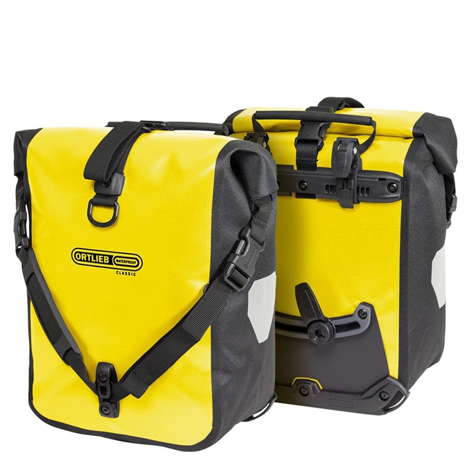 Ortlieb Sport-Roller Classic QL2.1 25L (set van 2) yellow/black - 1