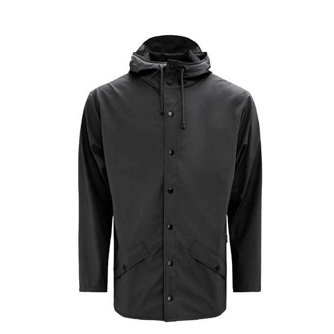 Rains Jacket Regenjas L/XL black