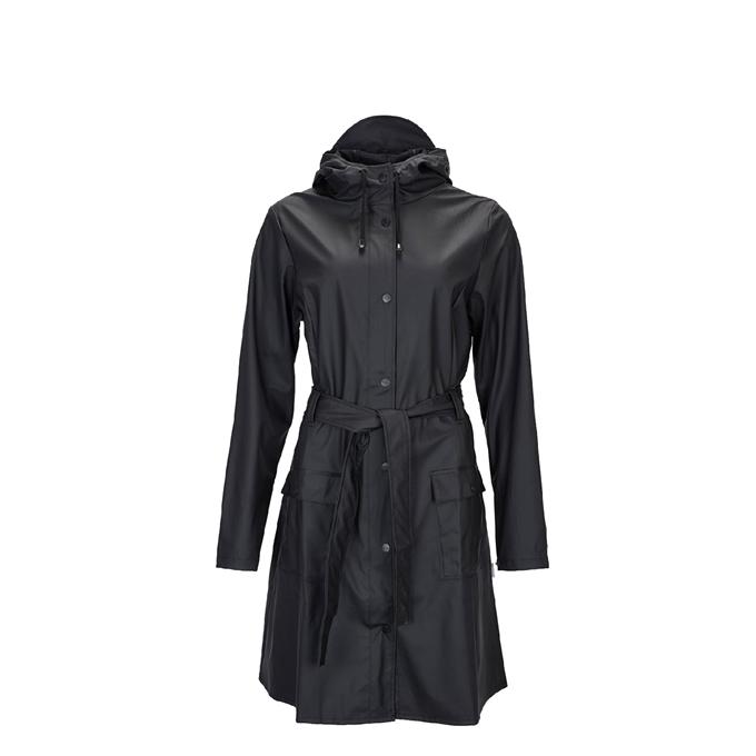 Rains Curve Jacket Regenjas S/M black