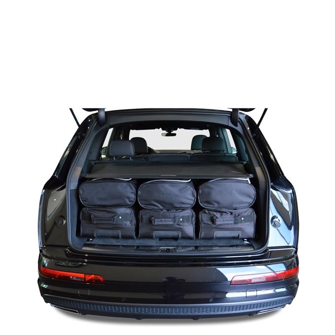 Car-Bags Audi Q7 (2015-heden) 6-Delige Reistassenset zwart