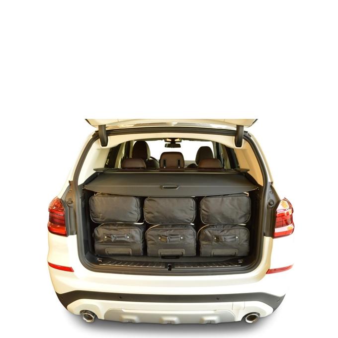 Car-Bags BMW X3 (2017-heden) 6-Delige Reistassenset zwart