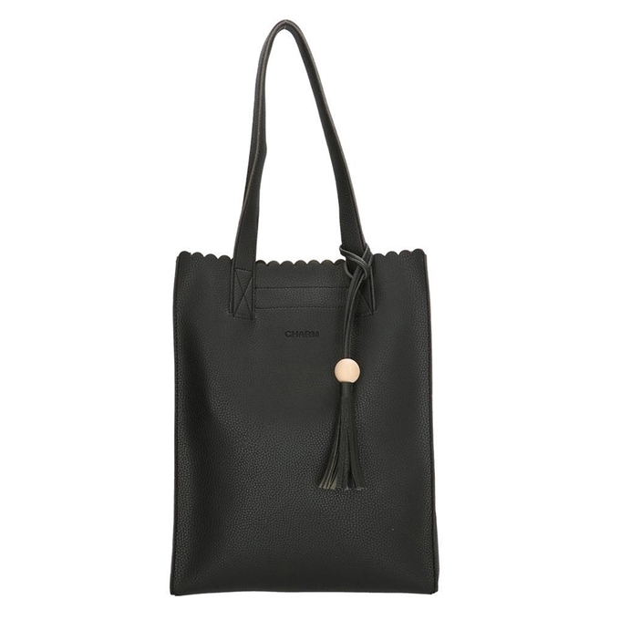Charm London Covent Garden Shopper zwart II