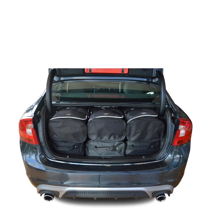 Car-Bags Volvo S60 II (2010-2018) 6-Delige Reistassenset zwart
