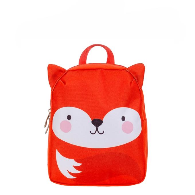 A Little Lovely Company Little Backpack Fox oranje - 1