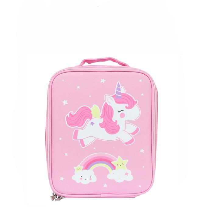 A Little Lovely Company Cool Bag Unicorn roze
