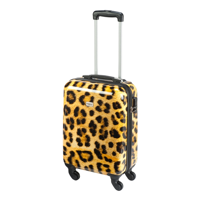Princess Traveller Animal Cabin Trolley S leopard - 1