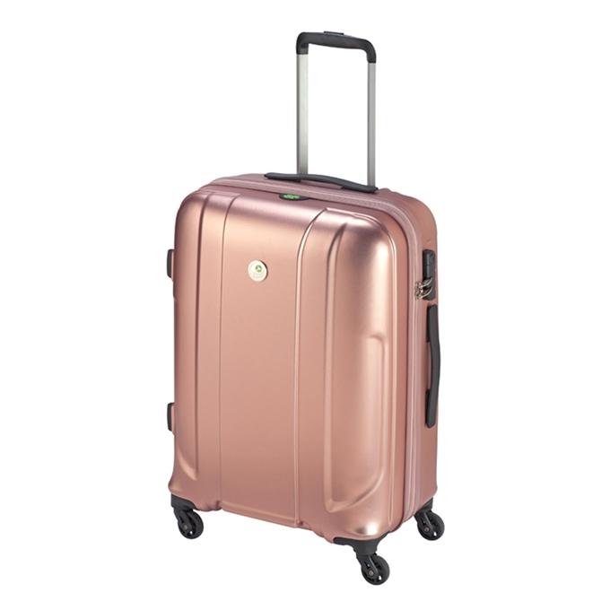 Princess Traveller Sumatra Recycled PET Trolley M pink