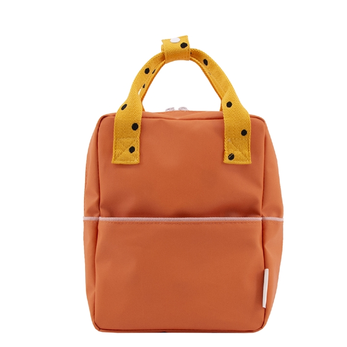 Sticky Lemon Freckles Backpack Small carrot orange sunny yellow candy pink - 1