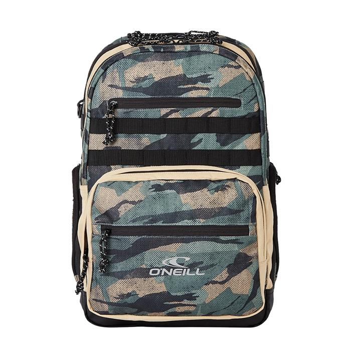O'Neill President Backpack green aop/black