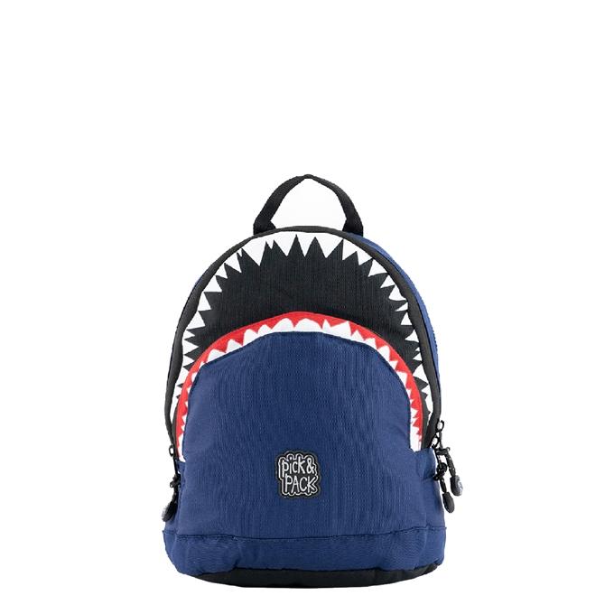 Pick & Pack Shark Shape Backpack S navy
