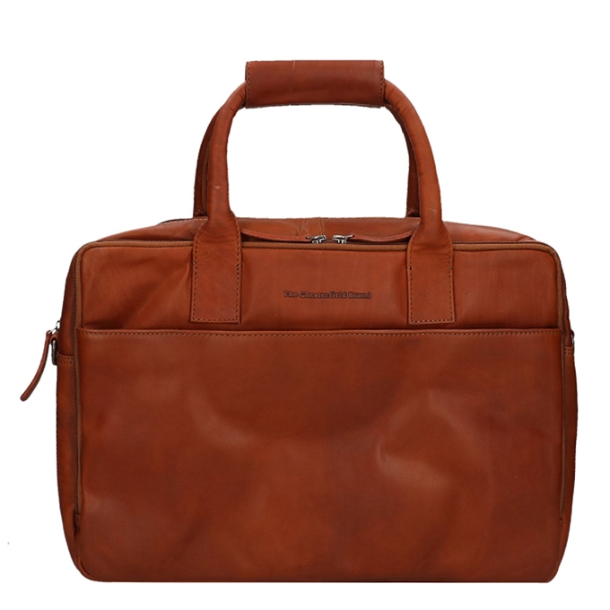 "The Chesterfield Brand Specials 17"" Laptopbag cognac"