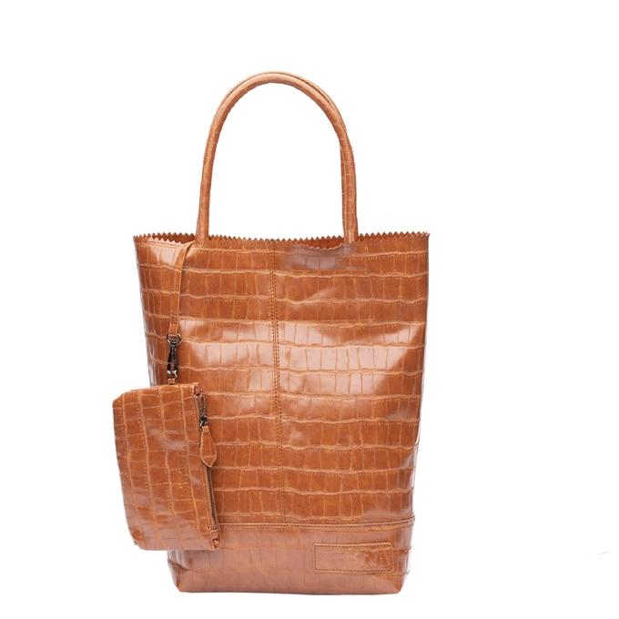 Zebra Trends Natural Bag Kartel Croco camel - 1