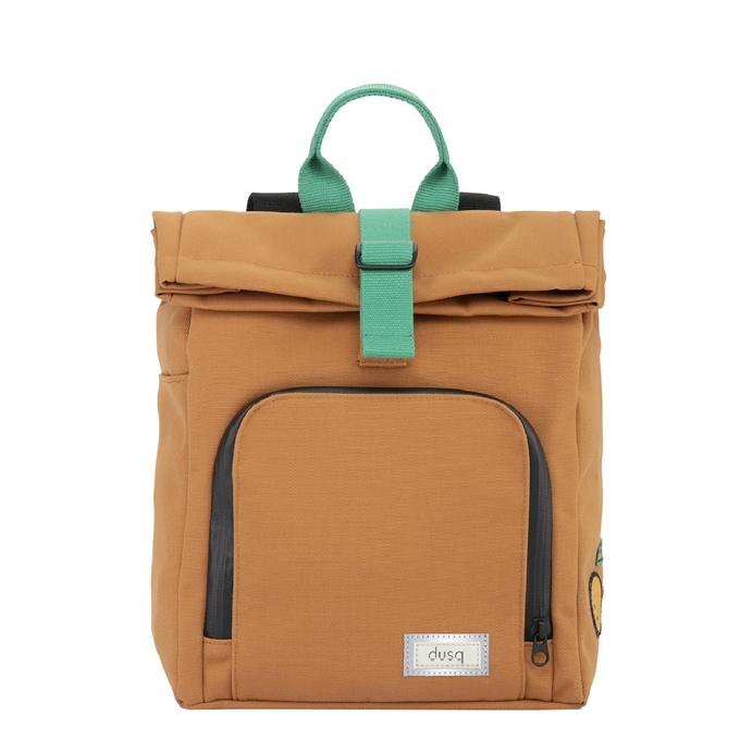 Dusq Mini Bag Canvas sunset cognac/forest green