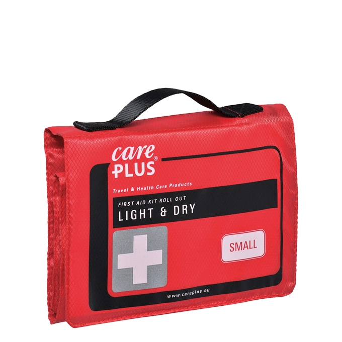 Care Plus First Aid Roll Out - Light & Dry Small red