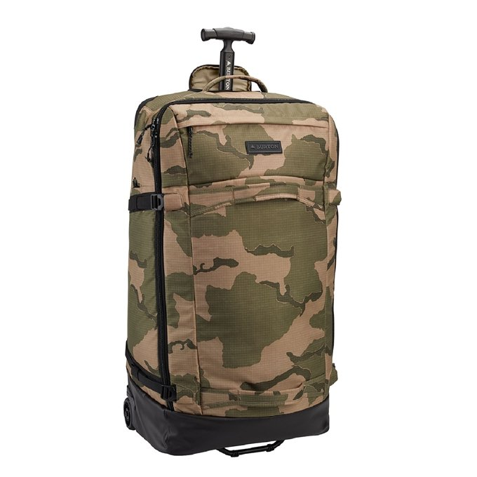 Burton Multipath 90L Checked Travel Bag barren camo print