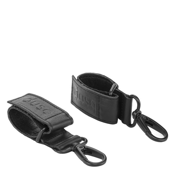 Dusq Straps 2 Pieces Leather black