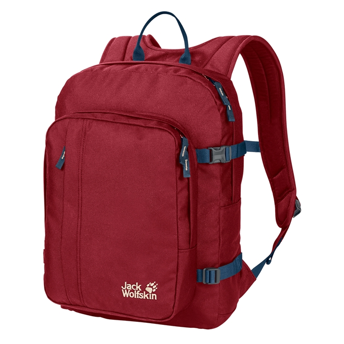 Jack Wolfskin Perfect Day Rugzak dark lacquer red