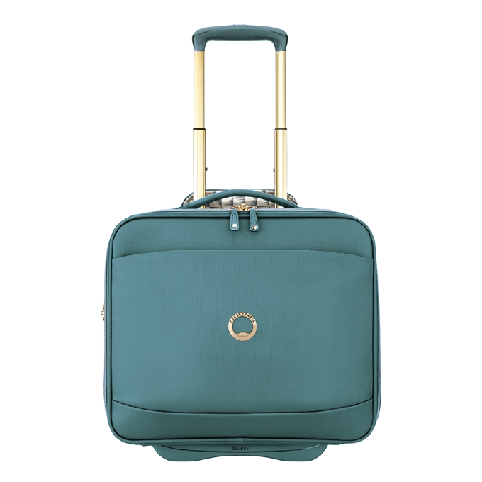 Delsey Montrouge Cabin Trolley Boardcase green