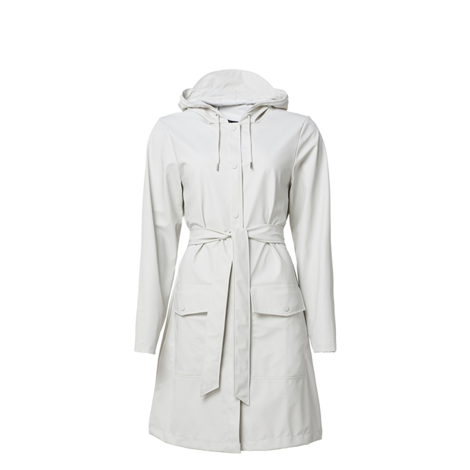 Rains Belt Jacket S/M off white