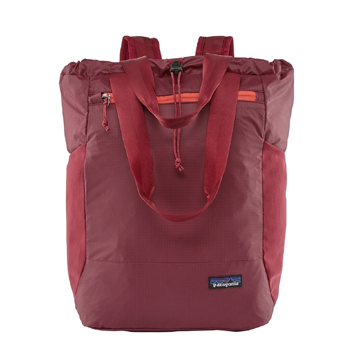 Patagonia Black Hole Ultralight Tote Pack roamer red