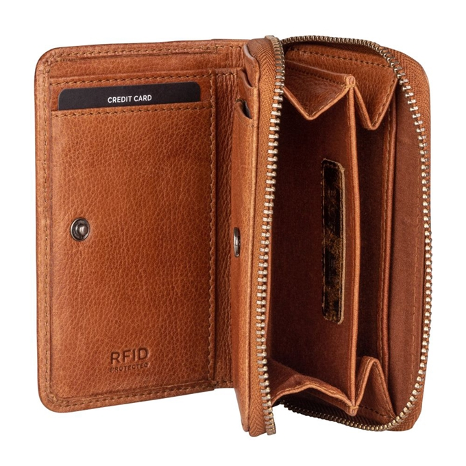 Burkely Just Jackie Wallet S Flap cognac