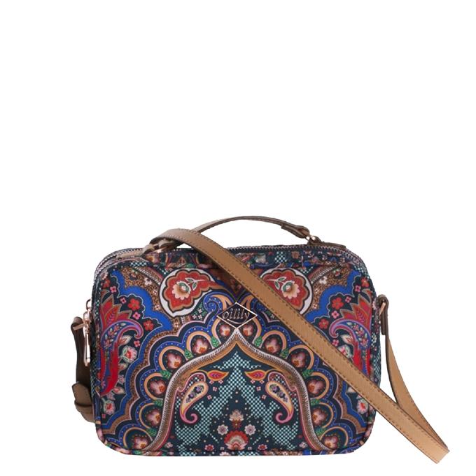 Oilily Paisley S Shoulder Bag royal blue