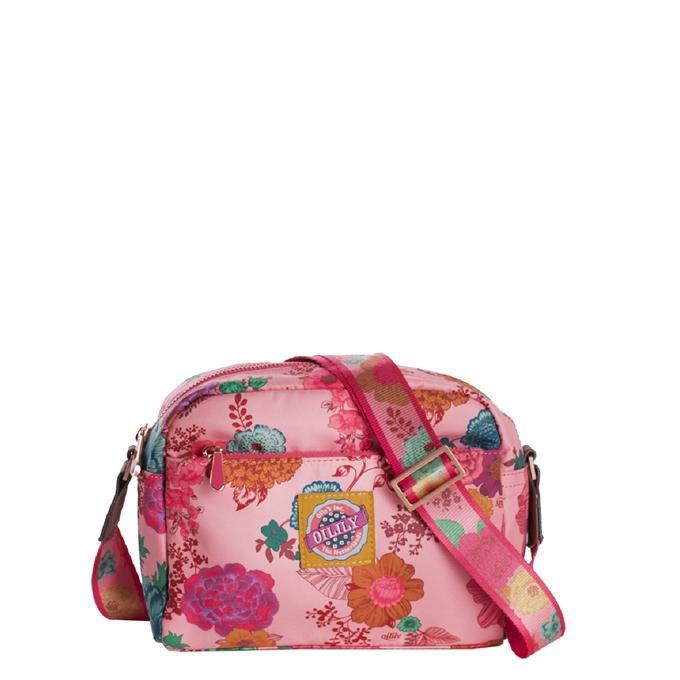 Oilily Color Splash XS Shoulder Bag camellia rose