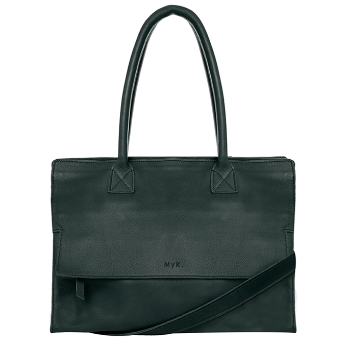 MyK. Mustsee Bag emerald green - 1