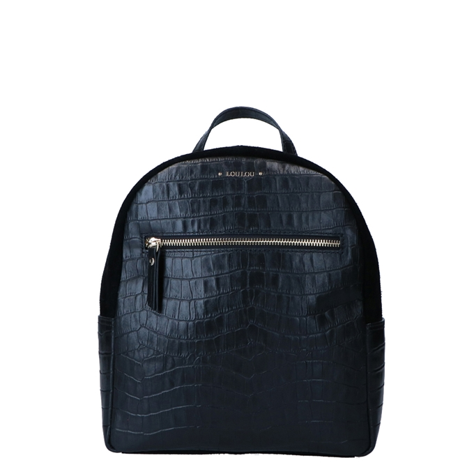 LouLou Essentiels Classy Croc Backpack black