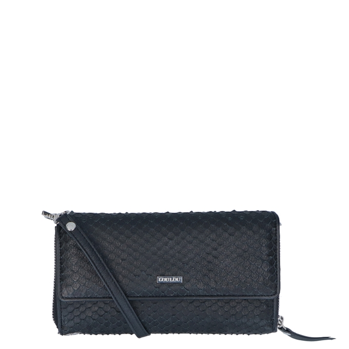 LouLou Essentiels Scales Wallet XL black