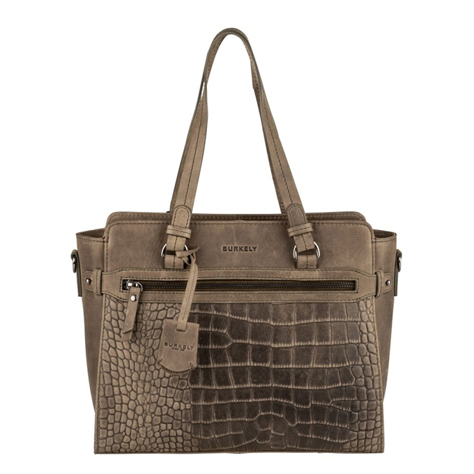 Burkely Croco Cody Handbag S turtle green - 1