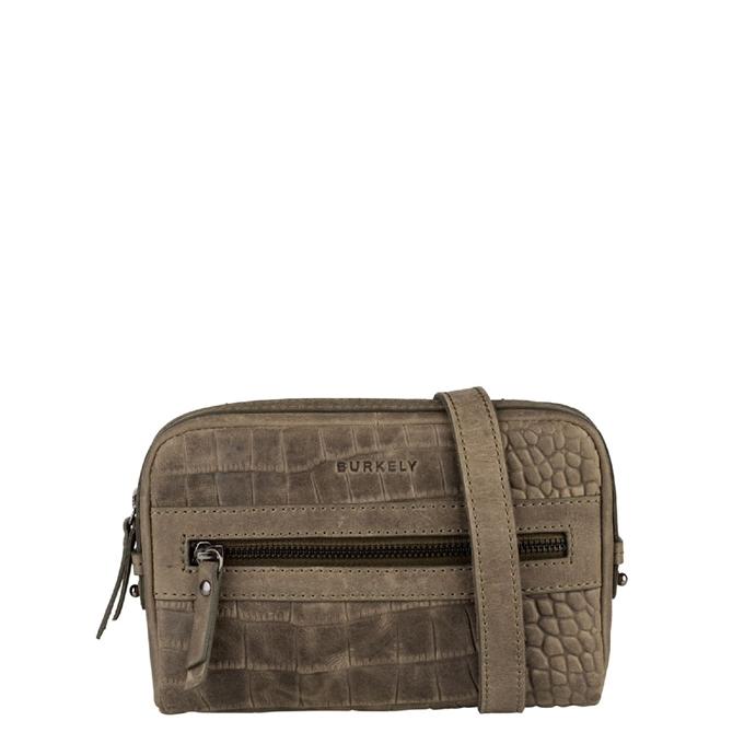 Burkely Croco Cody 5-Way Bag turtle green