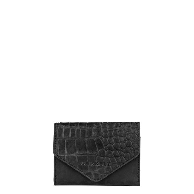 Burkely Croco Cody Wallet S black - 1